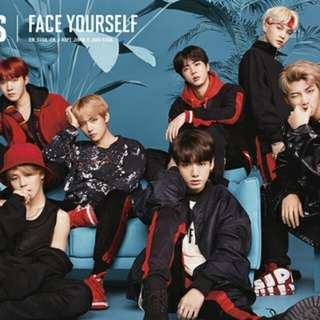 "[PRE-ORDER] BTS 3rd Japanese Album ""Face Yourself"""