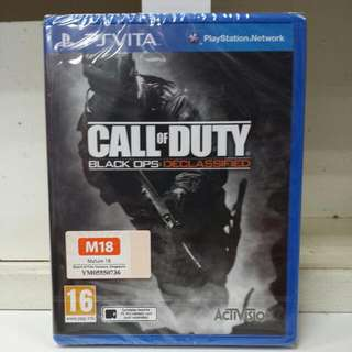 PS Vita Call Of Duty Black OPS : Declassified