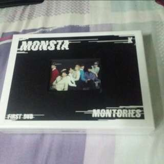 [WTS/READY STOCK] MONSTA X MONTORIES DVD