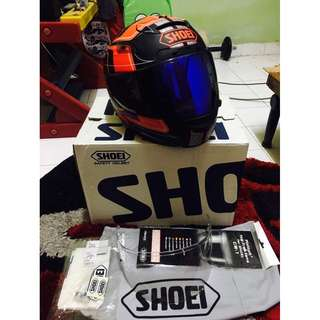 Shoei x12 x-12 x twelve trajectory original arai hjc agv r1 r6