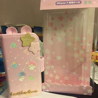 新春🈹Sanrio Original Little Twin Stars iPhone 7手機皮套