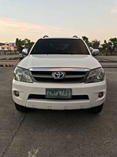 07 Toyota Fortuner G AT
