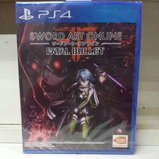 PS4 Sword Art Online Fatal Bullet R3 English