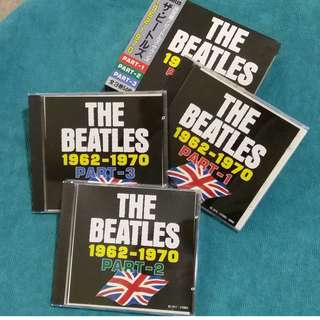 The Beatles 披頭四  1962-1970 CD精選集 日本版 95%新