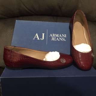 Sepatu Armani & Jeans Flat Shoes