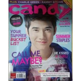 Mario Maurer Candy Magazine