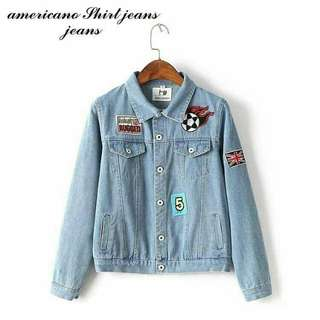 Jaket jeans americano shirt