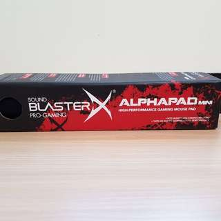 Sound Blaster Alpha Mouse Pad