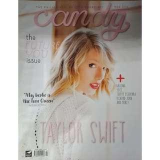 Taylor Swift Candy Magazine