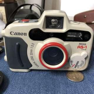 Canon As-1 影出黎效果超好
