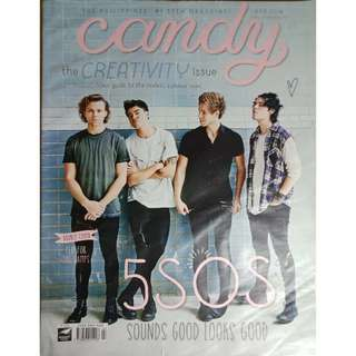 5SOS Candy Magazine