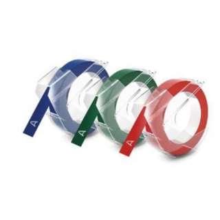 BN Dymo Embossing Tape - 3 rolls