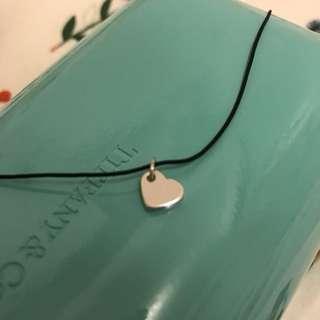 *全新包平郵* 韓國 心心銀色頸鍊 necklace