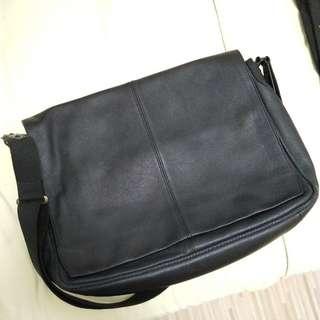 Agnes b sling leather bag