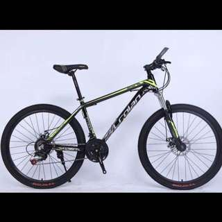 Free home delivery -Brand New 26''-High Grade Aluminium Frame MTB Bike/Bicycle with Disk Brakes,21Gears/Speeds, Suspension etc