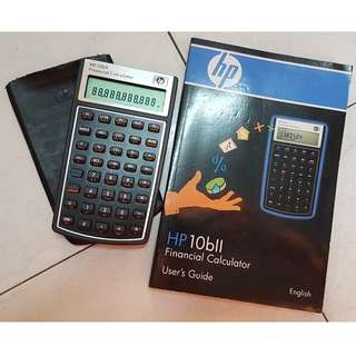 HP 10bii Financial Calculator & Casio Scientific Calculator fx-350MS