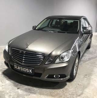Mercedes Benz E250 for Long Term Rental