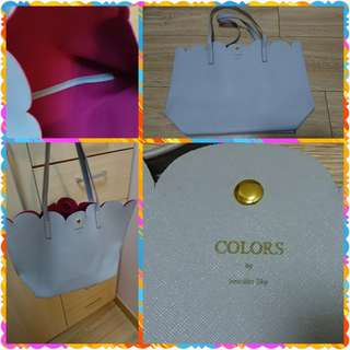Color by jennifer sky tote bag
