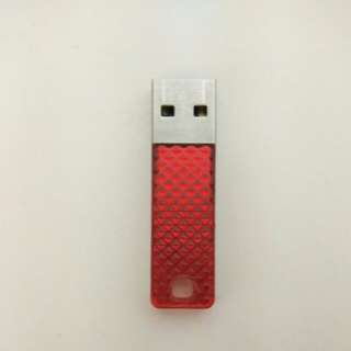 SanDisk Cruzer Facet USB Flash Drive (16GB) - Red Color