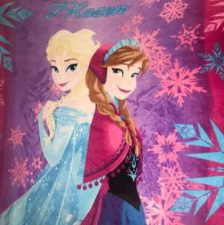 Disney Frozen Felt Velvet Blanket