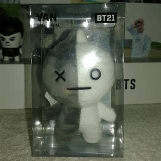 [ WTT ] BT21 van official bag charm
