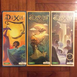Dixit board game expansions (NOT FAKE)