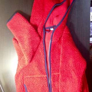 UNIQLO kids fleece jacket (Used)