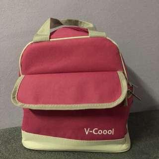 V-coool double layer cooler bag+storage bagx10 +icepack x4