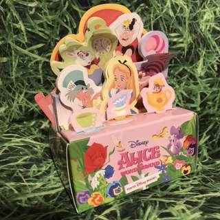 日本迪士尼樂園 Alice in Wonderland Memo Pad