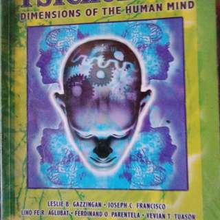 Pychology dimention of the Human mind