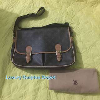 Louis Vuitton Monogram Sac Gibeciere GM