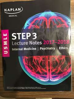 Kaplan Medical USMLE Step 3 Lecture Notes 2017-2018
