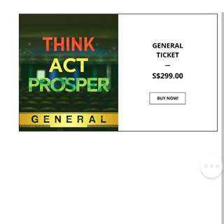 2 Think Act Prosper TAP business conference