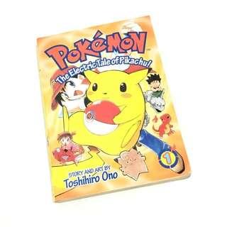 Pokémon The Electric Tale of Pikachu! Vol.1 Chuang Yi Comics