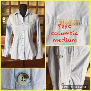 pre-loved columbia long sleeves for women