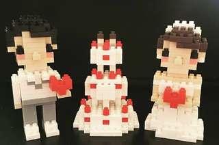 結婚公仔 Wedding 婚禮佈置 結婚display 婚禮擺設