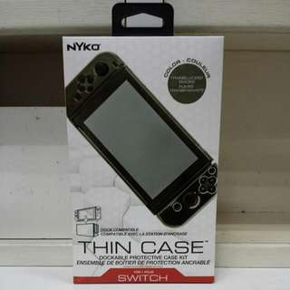 Switch Nyko Thin Case Smoke Color + Tempered Glass