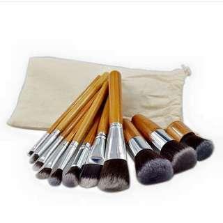11 pcs. Bamboo Brush- 250