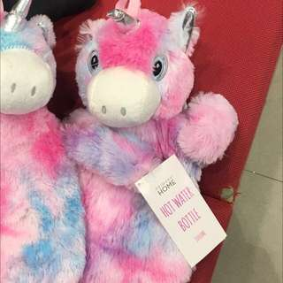 Unicorn cute hot water bottle ( primark )