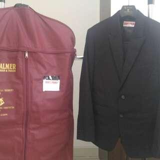 Setelan jas Harry's Palmer jas, rompi, celana bahan