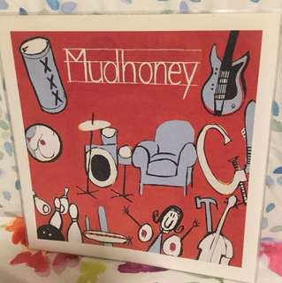 "Mudhoney - let it slide - 7"" vinyl record single - grunge era"