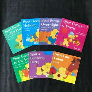 💥NEW- Spot An Original Flip-and-flap set of 7 books  - Children Storybooks