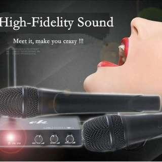 Karaoke Add Ons With 2 Wireless Mic