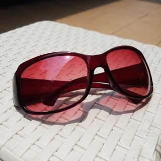 Sunglasses - Red Reflection