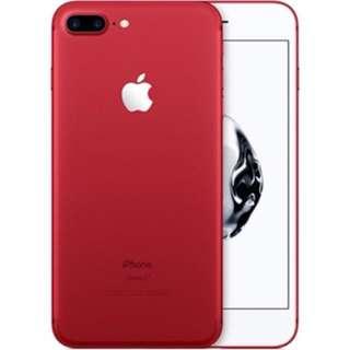 iPhone 7plus 絕版紅色