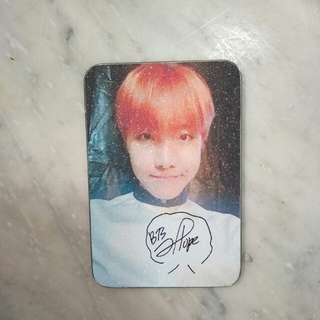 J hope sign cards