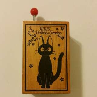 魔女宅急便木製手動音樂盒