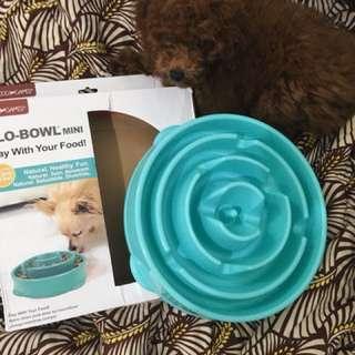Tempat Makan Anjing Slow Bowl