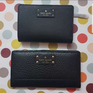 Auth Kate Spade Bifold Wallet