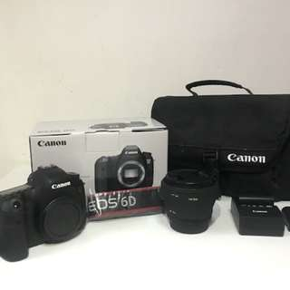 Canon 6D + Sigma 50mm 1.4